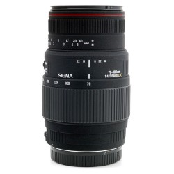 Objectif Sigma - Téléobjectif zoom - 70 mm - 300 mm - f/4.0-5.6 DG APO Macro - Minolta A-type