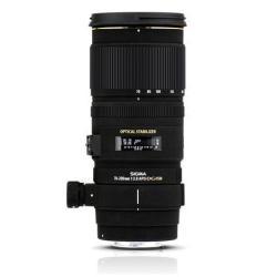 Objectif Sigma EX DG OS HSM - Téléobjectif zoom - 70 mm - 200 mm - f/2.8 APO DG OS HSM - Canon EF