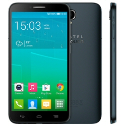 Smartphone Alcatel One Touch Idol 2 6037K - Smartphone - double SIM - 3G - 16 Go - GSM - 5