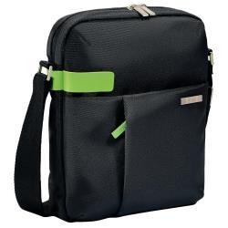 Sacoche Leitz Complete Tablet Smart Traveller - Sac à bandoulière pour tablette / lecteur eBook - métal, polyester - noir