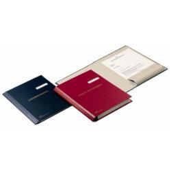 Porte-documents Fraschini - Chemise à 1 rabat - 240 x 340 mm - rouge