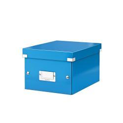Boîte à archive Leitz Click & Store - Boîte d'archive - A5 - bleu métallisé