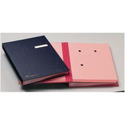 Boîte à archive Fraschini - Parapheur - 18 pochettes - 240 x 340 mm - bordeaux