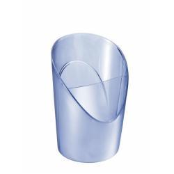 Esselte Europost Solea - Pot à crayons - polystyrène (PS) - transparent, bleu