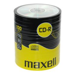 Maxell - 100 x CD-R - 700 Mo ( 80 min ) 52x - spindle