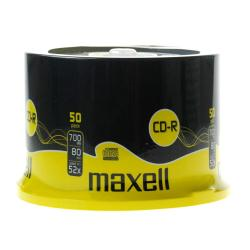 Maxell - 50 x CD-R - 700 Mo ( 80 min ) 52x - spindle