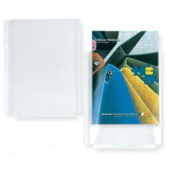 Porte-documents SEI ATLA GS - Pochette perforée - extensible - A4 - pour 250 feuilles - transparent (pack de 10)