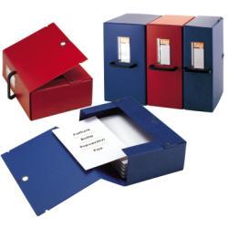 Boîte à archive SEI BIG - Boîte de classement - 120 mm - 250 x 350 mm - bleu