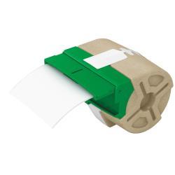 Leitz - Cartouche d'étiquette - adhésif permanent - blanc - Rouleau (8,8 cm x 22 m) 1 rouleau(x)