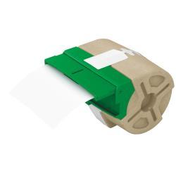 Leitz Icon - Étiquettes - plastique - auto-adhésif - blanc - Roll (8.89 cm x 21.9 m) 1 rouleau(x)