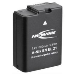 Batterie ANSMANN - Pile pour appareil photo Li-Ion 1300 mAh - pour Nikon 1 V2