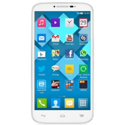 "Smartphone Alcatel One Touch POP C9 7047D - Smartphone - double SIM - 3G - 4 Go - microSDHC slot - GSM - 5.5"" - 960 x 540 pixels - IPS - 8 MP - Android - blanc uni"