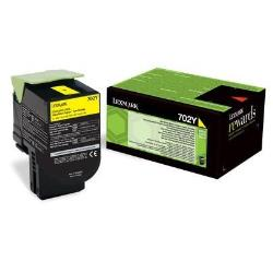 Toner Lexmark - Giallo 702C Return Program