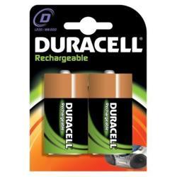 Pile Duracell Rechargeable - Batterie 2 x D NiMH 2200 mAh