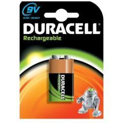 Pile Duracell Rechargeable - Batterie 9V NiMH 170 mAh