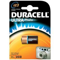 Pila Duracell - 123a