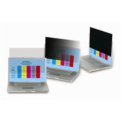 3M Privacy Filter PF17.0W - Filtre de confidentialité pour ordinateur portable - largeur 17 pouces - noir