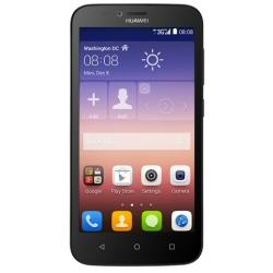 """Smartphone Huawei Ascend Y625 - Smartphone - double SIM - 3G - 4 Go - microSDHC slot - GSM - 5"""" - 854 x 480 pixels (196 ppi) - IPS - 8 MP (caméra avant de 2 mégapixels) - Android - noir"""