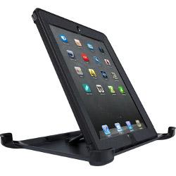 Sacoche OtterBox Defender Series Apple iPad 2/3 - Étui pour tablette - silicone, polycarbonate - noir - pour Apple iPad (3ème génération); iPad 2