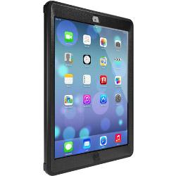 Sacoche OtterBox Defender Series Apple iPad Air - Coque de protection pour tablette - polycarbonate, caoutchouc synthétique - noir - pour Apple iPad Air