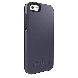 Housse OtterBox Symmetry Series Apple iPhone 5/5s - Coque de protection pour téléphone portable - polycarbonate, caoutchouc synthétique - denim - pour Apple iPhone 5, 5s