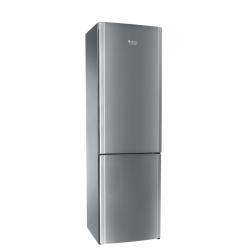 R�frig�rateur Hotpoint Ariston EVOLUTION EBL 20321 V - R�frig�rateur/cong�lateur - pose libre - largeur : 60 cm - profondeur : 65.5 cm - hauteur : 200 cm - 330 litres - cong�lateur bas - Classe A++ - inox
