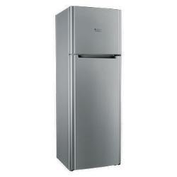 Réfrigérateur Hotpoint Ariston ETM 17321 V O3 - Réfrigérateur/congélateur - pose libre - largeur : 60 cm - profondeur : 65 cm - hauteur : 175 cm - 304 litres - congélateur haut - Classe A++ - inox