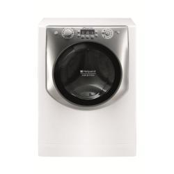 Lave-linge Hotpoint Ariston Aqualtis AQ83F 29 - Machine à laver - pose libre - largeur : 59.5 cm - profondeur : 55.1 cm - hauteur : 85 cm - chargement frontal - 8 kg - 1200 tours/min - blanc