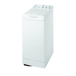 Lave-linge Indesit WITXL 1251 - Machine � laver - pose libre - largeur : 40 cm - profondeur : 60 cm - hauteur : 85 cm - chargement par le dessus - 42 litres - 6 kg - 1200 tours/min - blanc