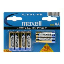 Pile Maxell - Batterie 6 x AA