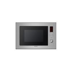 Micro-ondes encastrable Indesit MWI 222.1 X - Four micro-ondes grill - intégrable - 25 litres - 900 Watt - inox