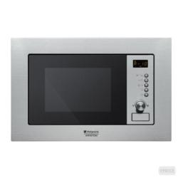 Micro-ondes encastrable Hotpoint Ariston Newstyle MWHA 122.1 X - Four micro-ondes grill - intégrable - 20 litres - 1000 Watt - inox
