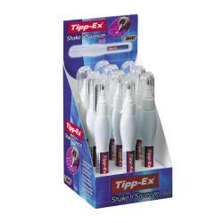 Tipp-Ex Shake'n Squeeze - Stylo correcteur - fin - 8 ml (pack de 12)