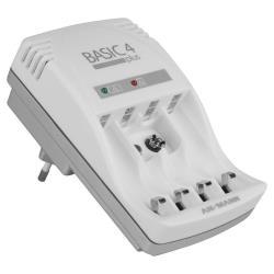 Chargeur ANSMANN Basic 4 Plus - Chargeur de batterie - 150 mA