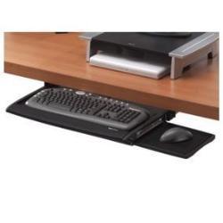 Fellowes Office Suites Deluxe - Tiroir pour clavier - noir, argenté(e)
