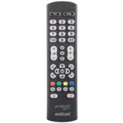 Télécommande Meliconi Pratico 2 Light - Télécommande universelle - infrarouge