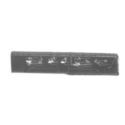 Ruban Olivetti PACKART - 1 - noir - 14.3 mm x 25 m - ruban d'impression - pour DM 4100; PR 1450, 1470, 1480, 1490, 15, 1590, 17, 19, 2835, 2890