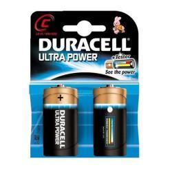 Pile Duracell Ultra Power MX1400 - Batterie 2 x C Alcaline (pack de 10)