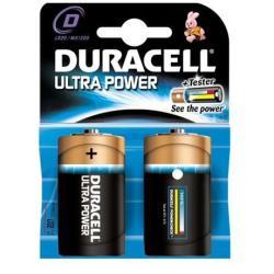 Pile Duracell Ultra Power MX1300 - Batterie 2 x D Alcaline (pack de 10)