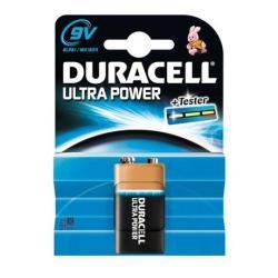 Pile Duracell Ultra Power MX1604 - Batterie 9V Alcaline (pack de 10)