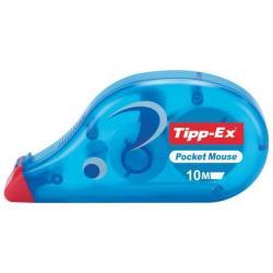 Tipp-Ex Mini Pocket Mouse - Rouleau correcteur - 5 mm x 5 m - distributeur transparent (pack de 10)