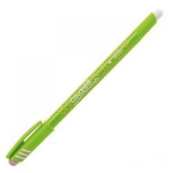 Stylo tratto Cancellik - Stylo à bille - vert clair - 1 mm - avec gomme - pack de 12