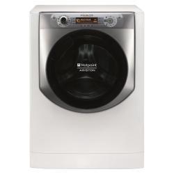 Lave-linge Hotpoint Ariston Aqualtis AQ 114D 69 D IT - Machine à laver - pose libre - largeur : 59 cm - profondeur : 61 cm - hauteur : 85 cm - chargement frontal - 11 kg - 1600 tours/min - blanc