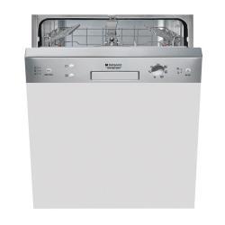Lave-vaisselle Hotpoint Ariston LSB 7M121 X EU - Lave-vaisselle - int�grable - Niche - largeur : 60 cm - profondeur : 57 cm - hauteur : 82 cm - inox