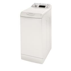 Lave-linge Indesit Innex IWTE 71282 C ECO - Machine � laver - pose libre - largeur : 40 cm - profondeur : 60 cm - hauteur : 85 cm - chargement par le dessus - 42 litres - 7 kg - 1200 tours/min - blanc