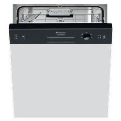 Lave-vaisselle encastrable Hotpoint Ariston LSB 5B019 CB EU - Lave-vaisselle - intégrable - Niche - largeur : 60 cm - profondeur : 57 cm - hauteur : 82 cm - noir