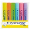 Marqueur Tratto - tratto Video - Surligneur -...