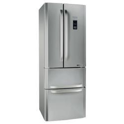 Réfrigérateur Hotpoint Ariston E4DG AAA X MTZ - Réfrigérateur/congélateur - pose libre - largeur : 70 cm - profondeur : 78 cm - hauteur : 195 cm - 468