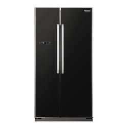 Réfrigérateur Hotpoint Ariston SXBD 925G F - Réfrigérateur/congélateur - pose libre - largeur : 90.2 cm - profondeur : 75 cm - hauteur : 176 cm - 537