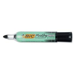 Marqueur BIC Marking ONYX 1482 - Marqueur - permanent - noir - 1.5 mm - pack de 12